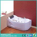 Design agradável massagem barata banheira com pega (TLP-683)