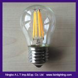 A60 de la bombilla del filamento en función decorativa