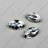Preciosa Cristal De Piedra De Cristal Navette Forma Cristales De Amethyst De Cristal