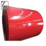 El color de Dx51d cubrió la bobina de acero cubierta color de la INMERSIÓN caliente PPGI