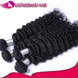 Евразийский глубокую волны природного сырья Virgin волос человека