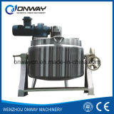Kqg Industrial Jacket Kettle Steam Jacket Brew Kettle Tilting Evaporator