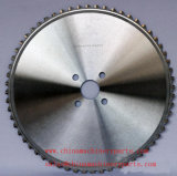 Superhard de acero inoxidable de revestimiento de acero de alta velocidad de corte de hoja de sierra circular