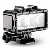 Indicatore luminoso subacqueo d'immersione impermeabile del LED per Gopro Hero4