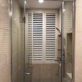 Obturateur imperméable à l'eau de porte de salle de bains de PVC d'obturateur de plantation de 2017 ventes en gros