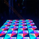 Disco DJ RVB léger DMX512 portatif 27CH DEL Dance Floor de boîte de nuit à vendre