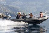 Aqualand 25feet 7.5m steifes aufblasbares Bewegungsboots-/-fiberglas-Rippen-Patrouillenboot/Fischerboot (rib750A)