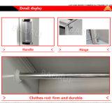 Jas-029 Venda Quente África barato 8 porta do armário guarda-roupa de aço macio de Metal