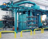 Macchina Chain ambientale di scoppio della sabbia del cilindro con la catena rotativa