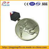 Custom высокое качество работы вокруг озера металлические медаль