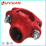 Te mecánica Grooved del hierro dúctil de la alta calidad con FM/UL