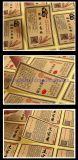 Изготовленный на заказ напечатанный стикер прилипателя ярлыка бумаги Kraft