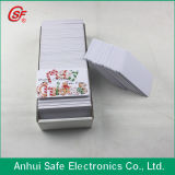 La identificación imprimible del PVC de la inyección de tinta carda de la tarjeta de crédito (TALLA CR80)