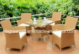 Todo o tempo Rattan Patio Dining Garden Outdoor Furniture