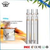 B3+V3 crayon lecteur en verre de vaporisateur de cire d'atomiseur de bobine en céramique du nécessaire 290mAh