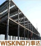 Fabrication nouvelle structure en acier léger pour l'entrepôt