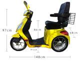 Трицикл тормоза руки высокого качества 48V 800W электрический для пожилых людей