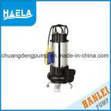 1.1Kw Subumersible en acier inoxydable des eaux usées de la fabrication de la pompe