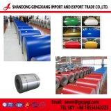 Enduit de couleur en acier galvanisé prélaqué bobine avec--PPGI de haute qualité