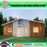 Camera di spiaggia piegante modulare prefabbricata del contenitore di verde solare prefabbricato a prova di fuoco
