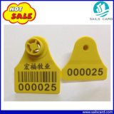 Ohne bedruckbare TPU Tierohr-Marke des Chip-für Tierkennzeichen