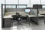 basse cloison du plus défunt de bureau bureau gris-clair moderne de compartiment (SZ-WS517)