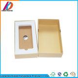 Téléphone mobile vide de papier kraft Emballage avec insert en mousse