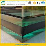 8mm+16A+8mm transparente des panneaux de verre super grand lit double