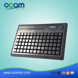 Teclado PS2 Kb78 supermercado POS con lector de RFID Pinpad teclado