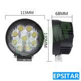Epistar LED 27W 4.5inch luz LED de trabajo al aire libre para la carretilla