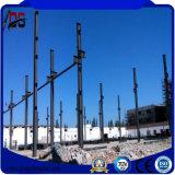 Armazém pré-fabricado claro da construção de aço da grande extensão