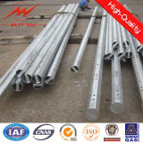 Puder Coating 12m Galvanized Electric Steel Pole Fasctory