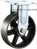 頑丈な鋳鉄Vの溝の鋼鉄足車