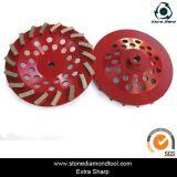 5-дюймовый 125мм Turbo сегментов чашка шлифовального круга для гранита и мрамора/конкретные