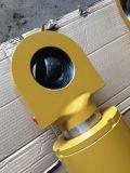 Cilindro do petróleo hidráulico com a tubulação oca para o RAM da cubeta do caminhão de descarregador do trator de exploração agrícola do carregador