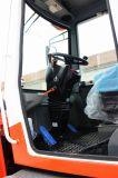Precio de 2 toneladas de gasóleo Ce pequeño mini cargadora de ruedas frontales con el soplador de nieve