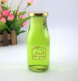 Glass Juice Bottle with eyelid