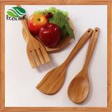 4PCS бамбук кухонные принадлежности и инструменты для приготовления пищи