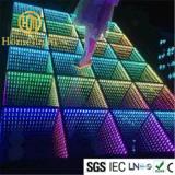 3D LED abismo espejo la pista de baile Arte Piso en 3D.
