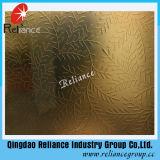 4mm / 5mm / 6mm Ácido de bronce dorado diseñado espejo / vidrio grabado grabado
