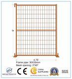 comitato provvisorio del recinto di filo metallico della rete fissa di 4.75FT x di 6FT Canada di vendita calda provvisoria del comitato