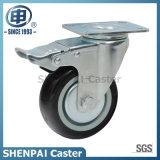 """3 """"極度のポリウレタン旋回装置の足車の車輪"""