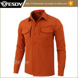 Orange tactique Esdy Windproof molleton chemises Softshell chaud étanche
