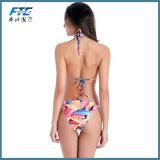 OEM Strand Swimwear van de Kousen van het Ondergoed van de Bikini van Meisjes het Sexy