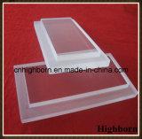 Cancelar o fornecedor personalizado da folha da placa de vidro de quartzo da escada