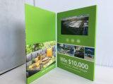Heet verkoop 2.4/4.3/7inch de VideoKaart van het Scherm van de Brochure LCD In werking gestelde Video/Auto