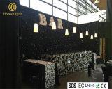4X6mの党イベントのための結婚の装飾の背景幕LEDの白いStarlitカーテン