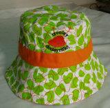 Beau chapeau de pêche de broderie de mode neuve pour le bébé d'enfants