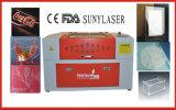 Sunylaserの非金属のための小型6040手仕事レーザーの彫刻家