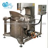 Machine automatique chauffée au gaz de maïs éclaté
